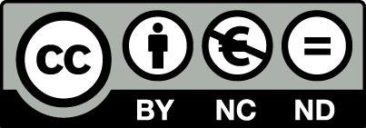 Attribuzione – Non commerciale – Non opere derivate 3.0